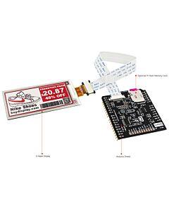 2.9英寸电子墨水屏白底红字SSD1675A控制IC带ARDUINO转接板