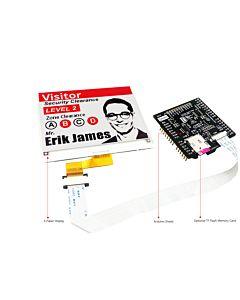 4.2英寸电子墨水屏白底红字SSD1619A控制IC带ARDUINO转接板