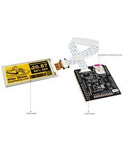2.9英寸电子墨水屏白底黄字SSD1675A控制IC带ARDUINO转接板
