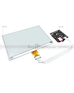 Black 7.5 inch e-Paper Display w/Arduino Shield,Library 640x384
