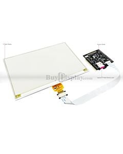 Yellow 7.5 inch e-Paper Display Arduino Shield,Library 640x384