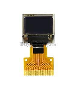 白色0.42寸OLED显示屏/显示模块/72x40点阵/IIC/SPI接口