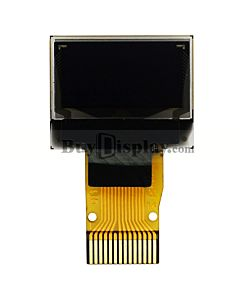 White 0.49 inch OLED Display Panel 64x32 IIC I2C SSD1306 Connector FPC