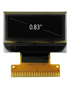 96x39 Pixel 0.83 inch Small OLED Display Manufacturers,I2C,Serial SPI