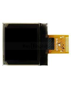 方形0.96英寸OLED显示屏/白色/96x96分辨率/控制芯片SSD1317/4SPI