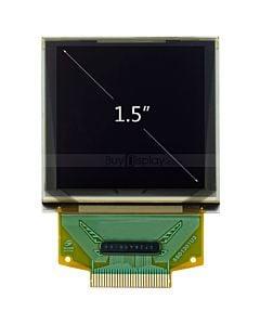彩色1.5寸OLED显示屏/显示模块/128128/128x128点阵/并串口