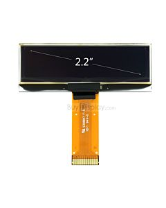 Yellow 2.2 inch 128x32 OLED Module Manufacturer,Serial SPI,SSD1305