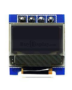 白色0.49寸OLED显示屏/显示模块/64x32点阵/IIC/SSD1306