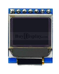 白色0.66寸OLED显示屏/显示模块/64x48点阵/IIC/SPI接口/SSD1306