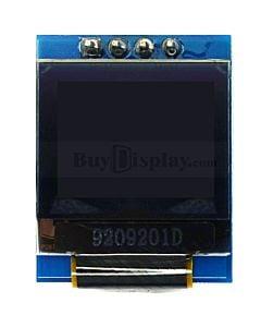 白色0.66寸OLED显示屏/显示模块/64x48点阵/IIC接口/SSD1306