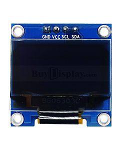 蓝色0.96寸OLED显示屏/显示模块/128x64点阵/IIC/SSD1306