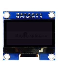 蓝色1.3寸OLED显示屏/显示模块/128x64点阵/IIC/SPI接口/SH1106