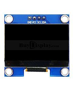 蓝色1.3寸OLED显示屏/显示模块/128x64点阵/IIC/SH1106