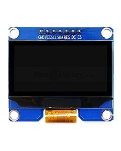 黄色1.5寸OLED显示屏/显示模块/128x64点阵/IIC/SPI接口/SSD1309