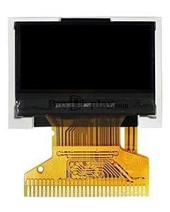 0.96寸TFT彩色液晶显示模块/128x64点阵/并串口/ST7735