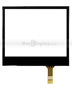 2 inch 4 Wire Resistive Touch Panel Screen