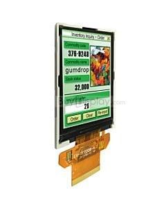 2.8寸TFT LCD彩色液晶显示模块/240x320点阵彩屏模组/并串口