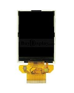 全视角IPS/2.8寸TFT/彩色液晶显示模块/240x320点阵彩屏模组/并串口