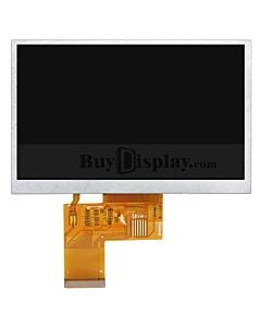 LCD 5 inch Display 480x272 TFT Module OPTL Touch Screen for MP4,GPS
