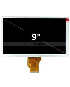 9 inch TFT LCD Display Module Screen WVGA 800x480 AT090TN10 AT090TN12
