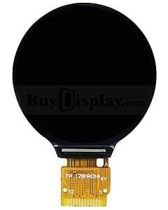 1.28寸圆形TFT IPS屏240x240分辨率/可用于电子手表