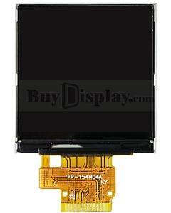 1.54寸TFT/IPS全视角/彩色液晶显示模块/240x240点阵/ST7789/4线串口