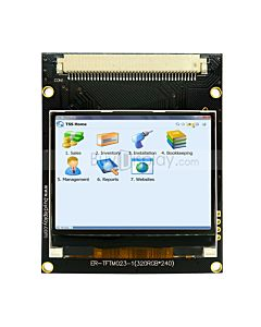 Serial SPI  2.3 inch TFT LCD Display Module w/Touch Panel,320x240