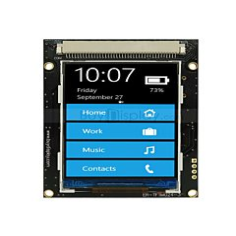 2.4寸TFT LCD彩色液晶显示模块/240x320点阵彩屏模组带转接板
