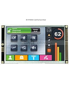 5 inch TFT LCD Module 800x480 Display w/Controller I2C Serial SPI