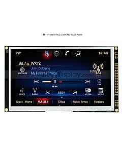 7寸TFT LCD彩色液晶显示屏配SSD1963控制板/并口/可配触摸屏