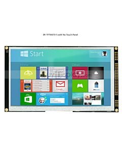 7 inch LCD Module w/Optional Capacitive Touch Screen Panel,I2C/SPI