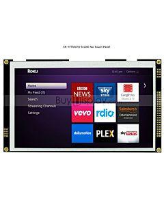 7寸TFT LCD彩色液晶显示屏配RA8876控制板/并串口/可配触摸屏