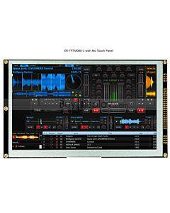 8寸TFT LCD彩色液晶显示屏配SSD1963控制板/并口/可配触摸屏