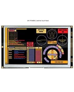 8寸TFT LCD彩色液晶显示屏配RA8875控制板/并串口/可配触摸屏
