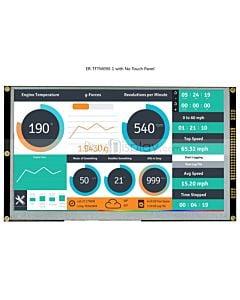 9寸TFT LCD彩色液晶显示屏配SSD1963控制板/并口/可配触摸屏
