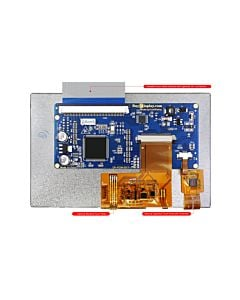 Cheap I2C LCD Display 5 inch TFT Capacitive Touch Screen 800x480