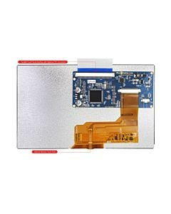 Cheap 7 inch Touch Screen 800x480 I2C LCD TFT SPI Display Module