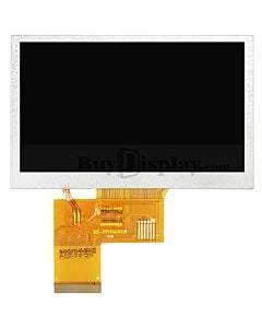4.3 inch 800x480 IPS TFT LCD Module All Viewing OPTL TouchScreen Display