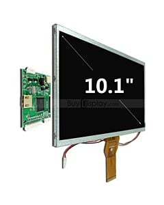10.1 inch Raspberry Pi Touch Screen w/Small HDMI Driver Board,1024x600