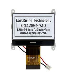 1.8寸超薄LCD12864液晶屏/128x64图形点阵COG液晶模块/白底黑字