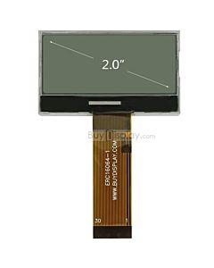 超薄2寸LCD16064液晶屏/160x64图形点阵COG液晶模块/白底黑字