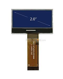 超薄2寸LCD16064液晶屏/160x64图形点阵COG液晶模块/蓝底白字