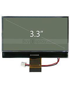Serial Graphic Module Display 240x128 COG w/UC1608 Controller