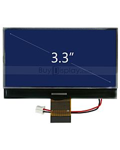 Serial Blue 240x128 Graphic LCD Module w/UC1608 Controller