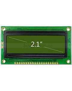 2.1寸LCD12832液晶屏/LCM128x32图形点阵模块/黄绿底蓝黑字/中文字库