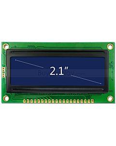 2.1寸LCD12832液晶屏/LCM128x32图形点阵模块/蓝底白字/中文字库
