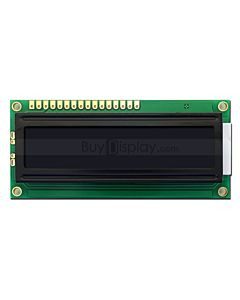 Black 3.3V/5V 1601 1x16 Character LCD Module Display I2C for Arduino