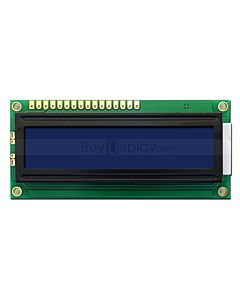 Blue Charcter LCD Display Module 16x1 to Arduino UNO I2C Adaptor Board