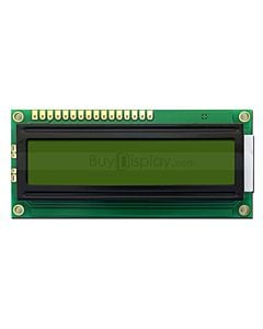 LCD Display 16x1 Datasheet in PDF,w/HD44780 Controller,I2C Arduino