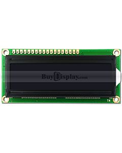 RGB Backlight Negative 16x2 LCD Character Display Module